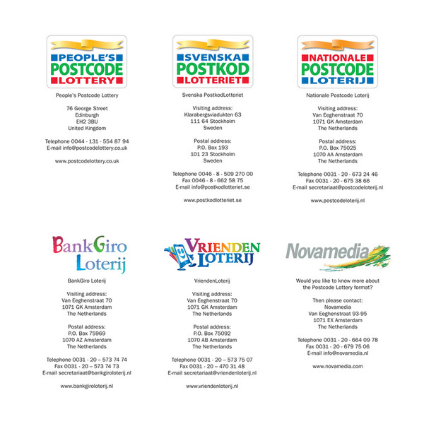 Annual Report 2015 Novamediapostcode Lotteries Page 68